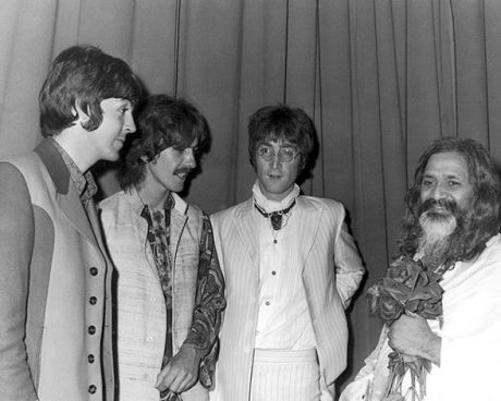 1967_paul__george_and_john__backstage_with_the_maharishi_mahesh_yogi_after_a_lecture_on_transcendental_meditation_at_the_hilton_hotel__london__25th_august_1967
